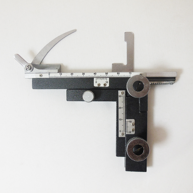 Moveable All Metal Mechanical Scale Stage for Microscope Slide
