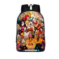 Anime Undertale Backpack For Teenage Girls Boys Book Bag Sans Women Mochila Men Travel Bag Undertale