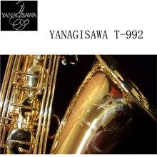 2017 Янагисава T-902 саксофоны тенор поддержка Professional позолота покрытием и лак золото тенор саксофон Sax с случае
