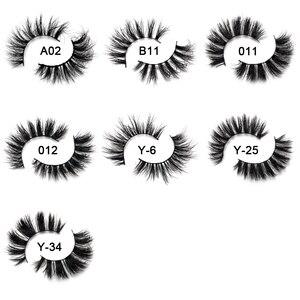 Image 5 - Yonteia Nerz Wimpern 3D Nerz Wimpern 100% Cruelty free Peitsche Handgemachte Wiederverwendbare Natürliche Wimpern Beliebte Falsche Wimpern Make Up
