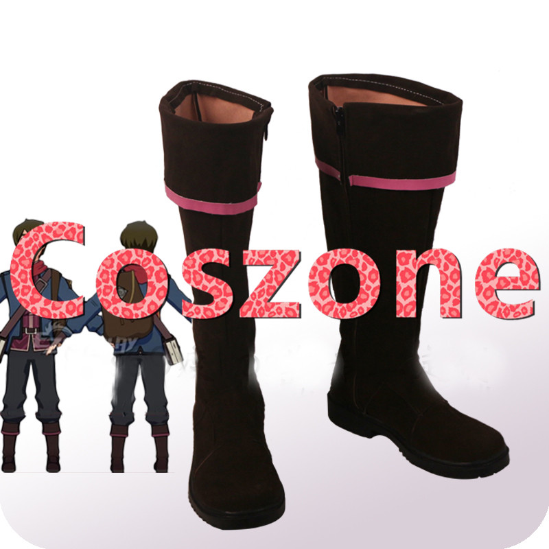 The Dragon Prince Callum Shoes Men/'s Cosplay Shoes Comic Com Customized Boots