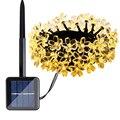 Energía Solar LED Cadena Luces 30LED 5 M Impermeable Decorativo Cereza Globo Al Aire Libre Jardín Patio Decoración Linterna Alumbramientos