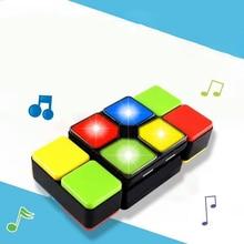 Fidget Cube Magic Cube Music Multiple Infinite Led Light Antistress Cubo Gaming Kids Educational Christmas Toys