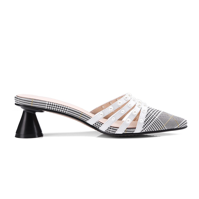 Grey Sandals Sexy Line Women Grey High Female Footwear Toe Ladies Slippers  Facndinll Pointed 2019 Woman Shoes Heels ... 3ee352ca753e