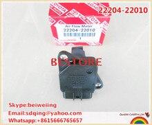 Оригинальный расходомер воздуха 2220422010 для Camry Corolla RAV4 Yaris Highlander Prius Scion 1ZZ 1NZ 2AZ 22204-22010