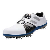 New arrival golf shoes Men shoes Synthetic sport water-proof sneakers wide fitted sport shoes footwear