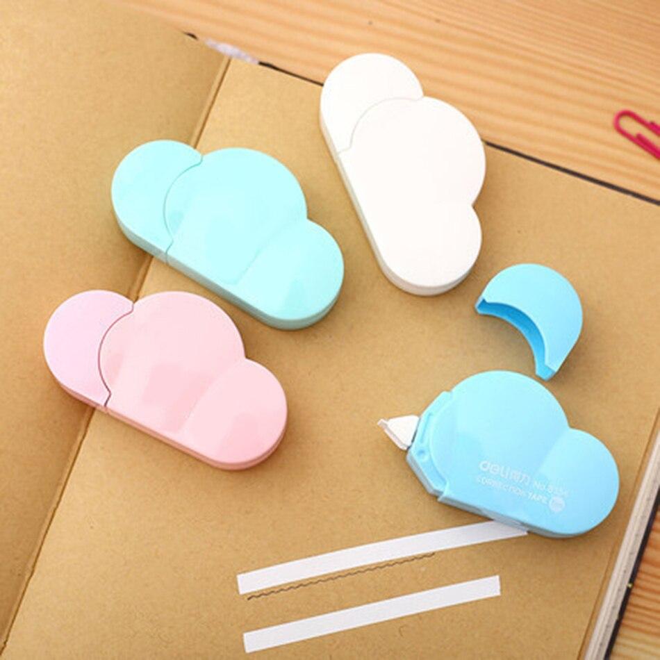 Super Sale 9a59 1 Piece School Stationery 5m Cute Kawaii Cloud