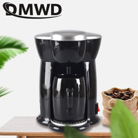 Automatic Electric Drip Coffee Maker Teapot Boiler Mini Household Pump Pressure Extractor Cafe Tea Pot American Coffee Machine