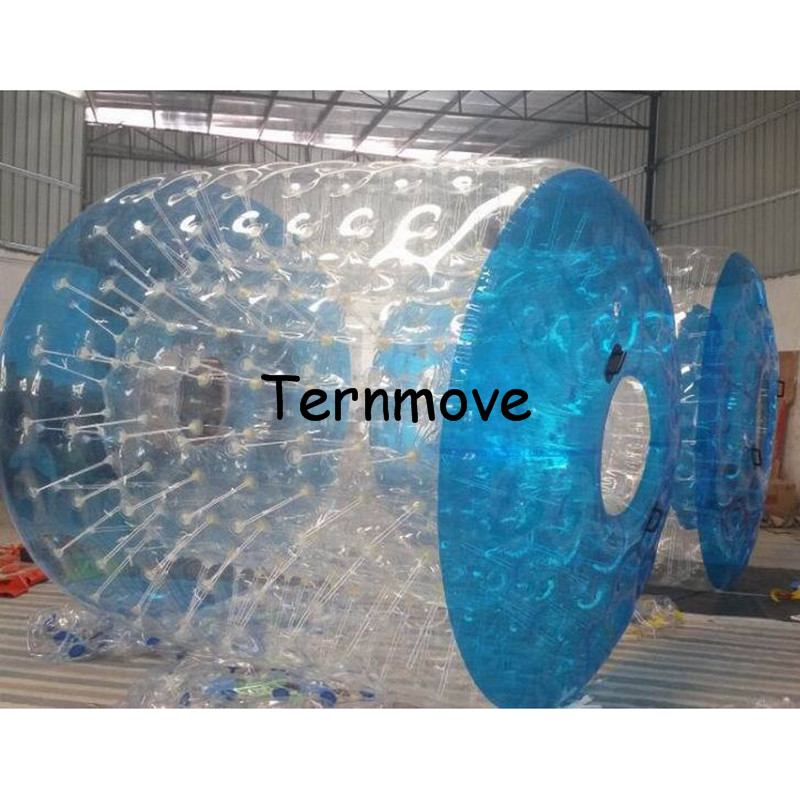 rolling steel ball,swimming pool rolling water roller balls,hot sale inflatable water roller,inflatable water walking roller inflatable water spoon outdoor game water ball summer water spray beach ball lawn playing ball children s toy ball