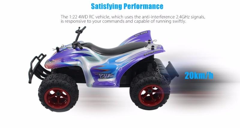 RC Car 9602 2,4 GHz 4CH 20 km/h 1:22 4WD RC todoterreno coche RTR con freno bajo voltaje protección RC Buggy coche speedstorm mejores regalos Envío rápido, riego automático de 20/25/30m, irrigación por microgoteo, Kits de autoriego de jardín, riego por pulverización ajustable