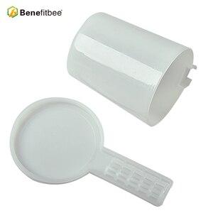 Image 5 - Benefitbee 2 pz Strumenti di Apicoltura Ape Alimentatore Per Apicoltore Apicoltura Attrezzature Forniture medio formato di plastica ape alimentatore