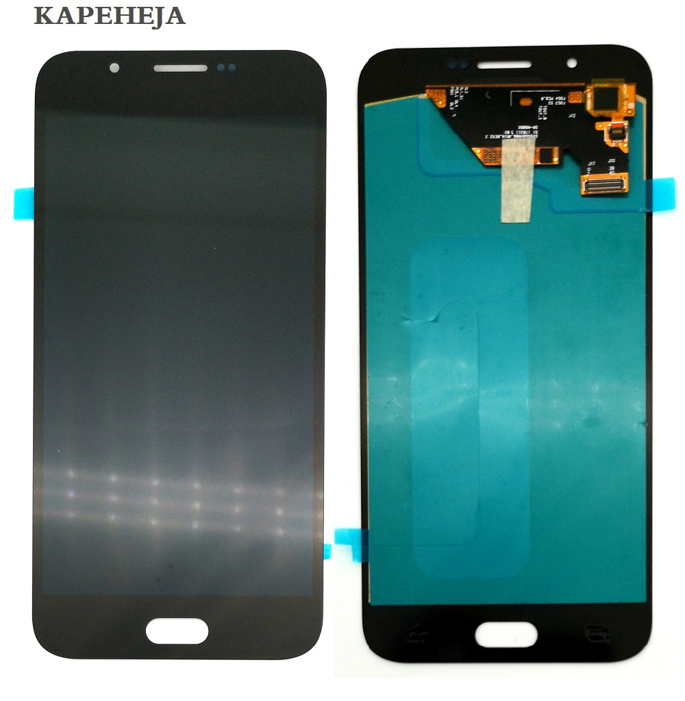 Super AMOLED LCD <font><b>Display</b></font> For Samsung Galaxy <font><b>A8</b></font> 2015 A800 A8000 A800F LCD <font><b>Display</b></font> Touch Screen Digitizer Assembly image