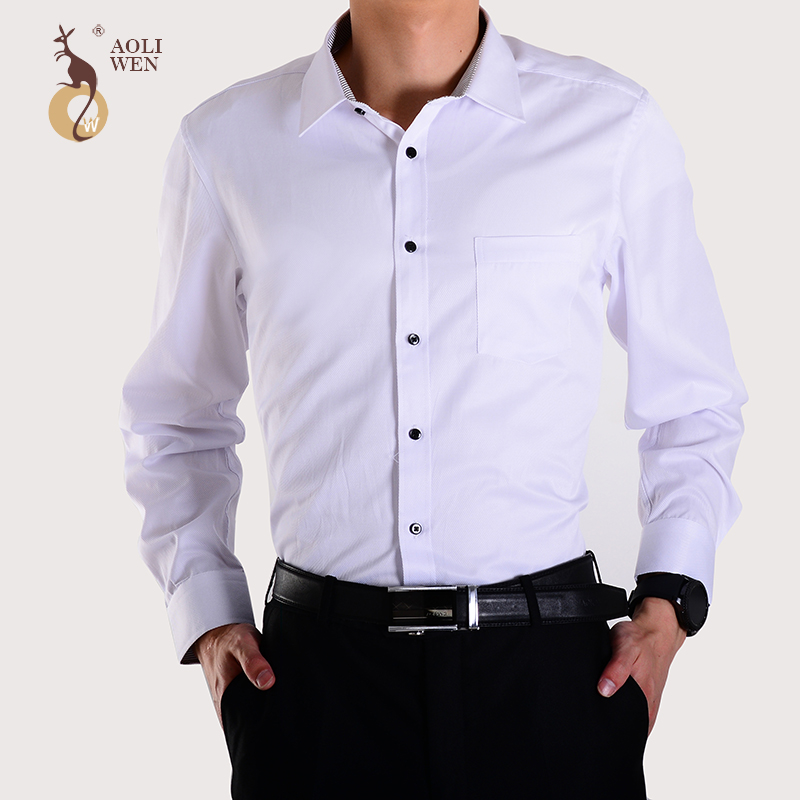 High Quality Mens White Shirt with Black Buttons-Buy Cheap Mens ...