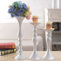GIEMZA Art Chic Candlesticks 1pc golden Luxurious Decorations Living Room Fashion Candlestick Decoration Candle Holder Tool