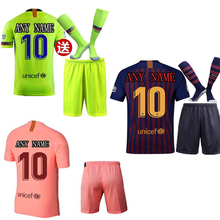 Custom Madetop Quality 2018-19 Customized Name Number Men's T-shirt sets New Fashions High Quality T-Shirt Men Free Shipping