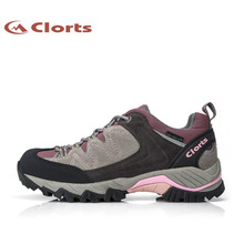 2016 ClortsLadies and men  Hiking Shoes HKL-806 Waterproof Cow Suede Outdoor Trekking Shoes EVA Sports Sneakers