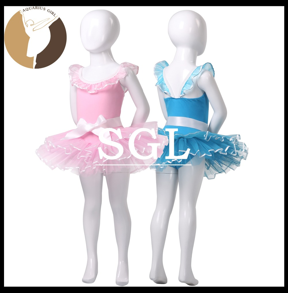 (5 pieces/lot)Dance Skirt Tutu Girls Cotton Lycra With Hard Tulle Skirts Chidren Pink Tutu For Ballet Competition CS0277