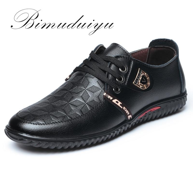 Bimuduiyu lujo de la marca de venta caliente de los hombres respirables suaves z