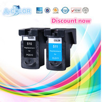 PGI 510Black CLI 511color Compatible Ink Cartridge For Printer MP240 MP250 MP260 MP270 MP272 MP280 MP480