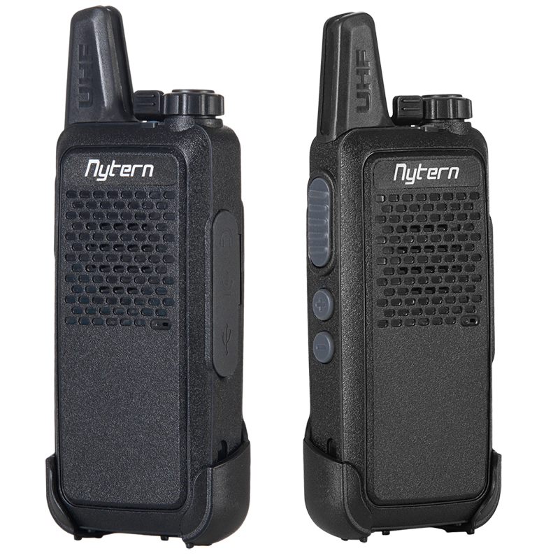 2 pièces Mini talkie-walkie BL-3 Portable Radio Portable UHF poche deux voies jambon Radio communicateur HF émetteur-récepteur