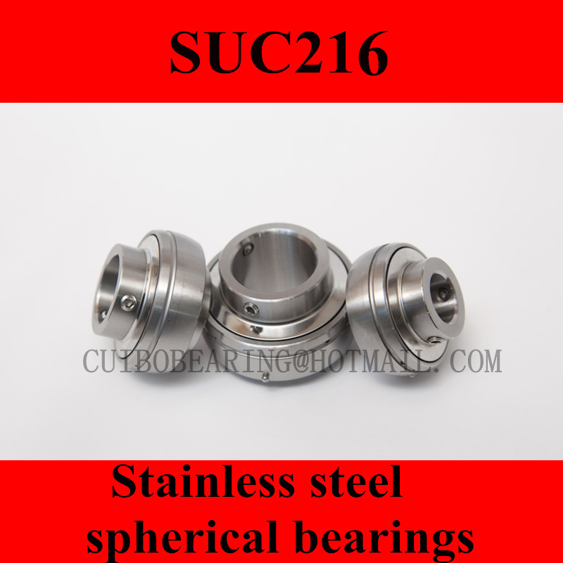 Stainless steel spherical bearings SUC216
