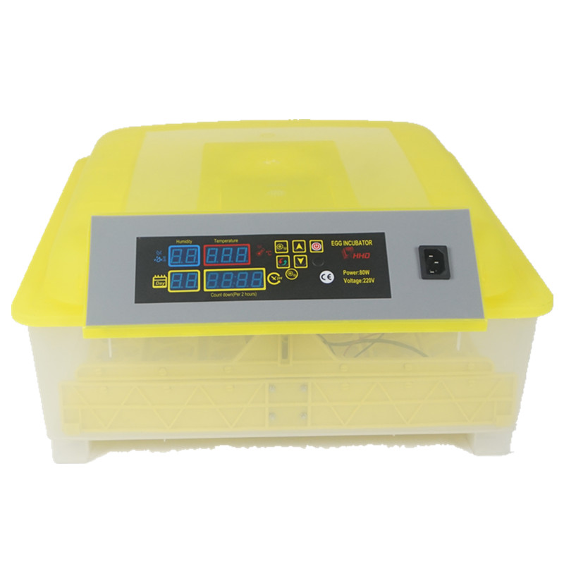 Incubator for Chicken Quail Geese Poultry eggs LED Display Turning Time Temperature Alarm hatchery machine 2pcs lot mini incubator 144 eggs quail incubator 36chicken incubator wq 36