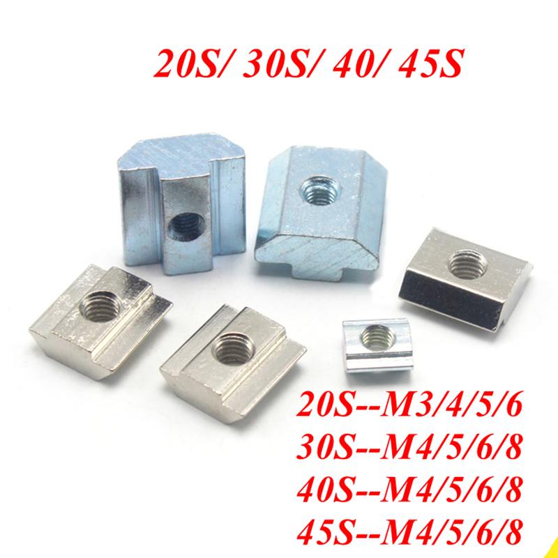 INCREWAY 50pcs M6 Stainless Steel Nylon Insert Hex Lock Nut Kit