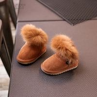 Nauhutu Designer Baby Shoes Snow Winter Boots Toddler Australia Outdoor Warm Footwear Cotton Infant Booties Unisex