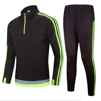 Men S Basketball Jersey Sets Football Competition Uniforms Training Coat Pants Suits Sports Clothes Set For