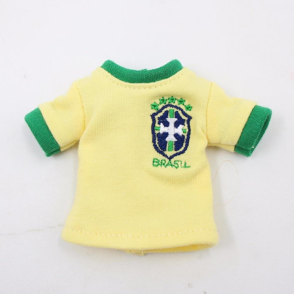 Neo Blythe Doll Brasil Football Team Uniform 1