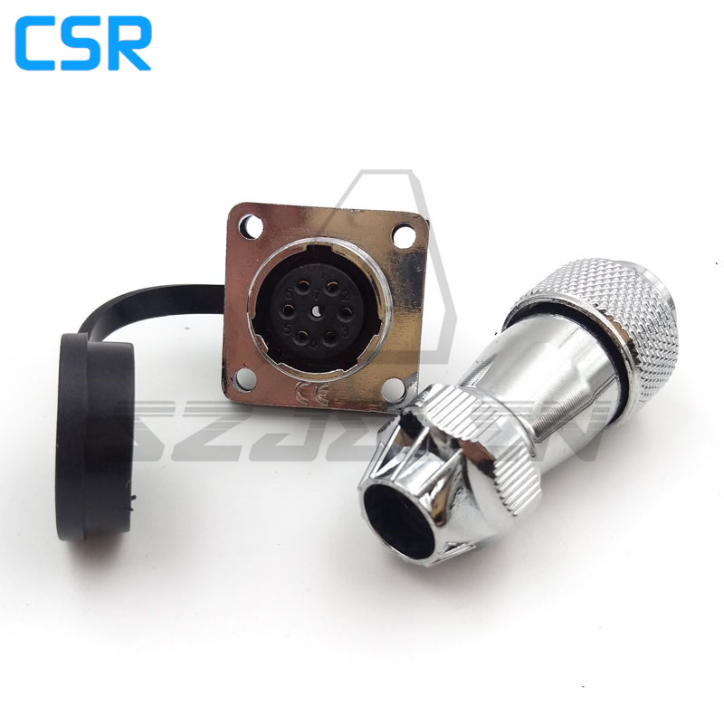 WS16 series waterproof 6 pin Plug and socket, automation power connectors, IP68 ,Military cable connector, Industrial Connectors xhe20 ip67 4pin waterproof connectors 4 pins power cable connector male and female automotive connectors plug and socket