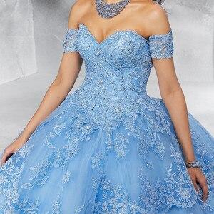 Image 5 - JaneVini 高級プリンセス夜会服レッド大人のドレスの恋人ヘビービーズページェントウエディングドレス Vestidos 15 各公報