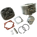 45mm Pistão Kit Para 60cc Cilindro 2 Tempos Motor Motor Motorizado Da Bicicleta Da Bicicleta