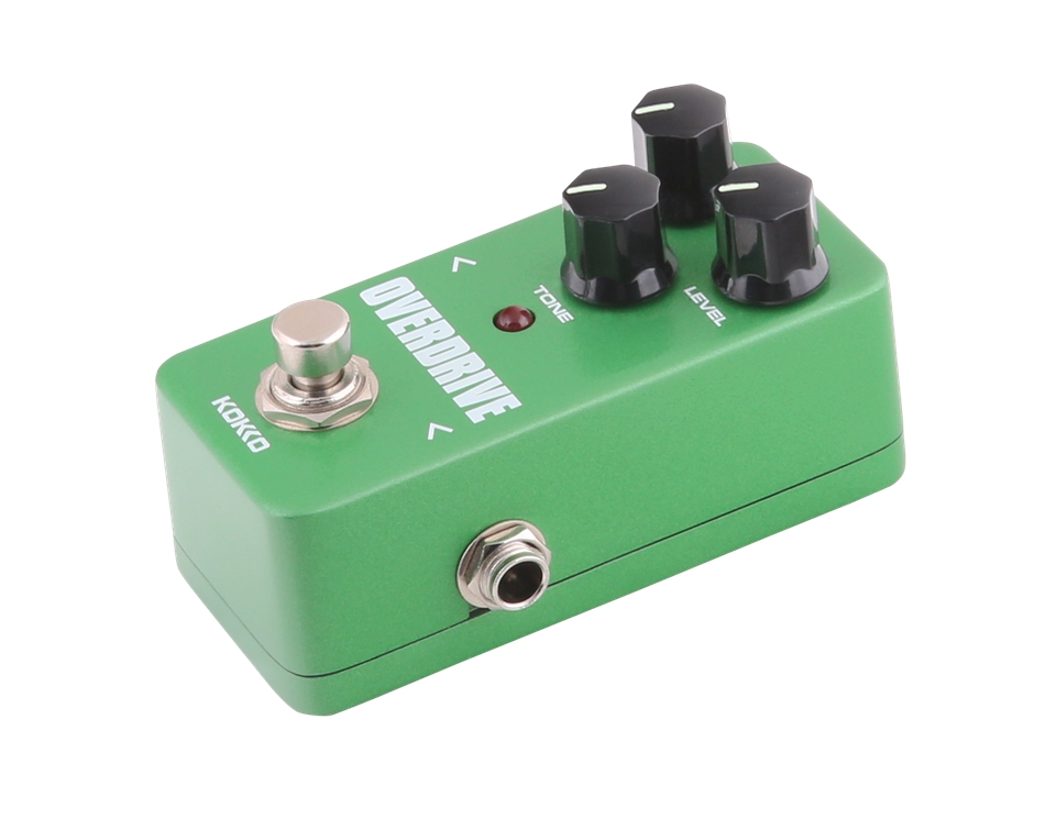 KOKKO Overdrive Guitar Effect Pedal FOD3 Protable Mini Guitar Effect High Quality Guitar Parts & Accessories kokko frb2 mini space pedal portable guitar effect external ac adapter delivering 9v dc regulated guitar parts