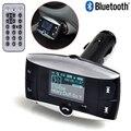 BT-01 Wireless Bluetooth FM Transmitter Modulator Car Kit MP3 Player SD USB LCD Remote BH + Bluetooth Steering Wheel Control