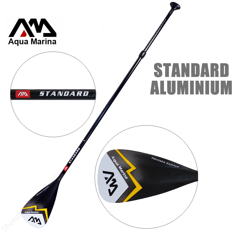 AQUA MARINA aluminium SUP paddle standard rame pour stand up paddle board surf extensible 166-212 cm T poignée eau rame A03005
