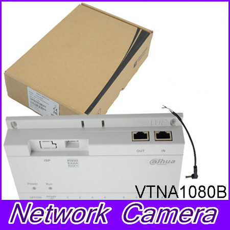 Original Brand Access Control System 8-CH Unit Net Distributor Analogue Products Without Logo VTNA1080B with DC24V power adapter in stock dahua free shipping 4 ch unit net distributor without logo vtna1040b