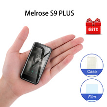 Mini 4G LTE Mobile phone Melrose S9 PLUS MTK6737 1GB 8GB Android 7.0 2.45 Inch S