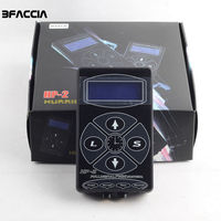 Bfaccia Tattoo Power Supply Upgrade Tattoo Machine HP 2 Intelligent Digital LCD Makeup Dual Power Tattoo Supplies Set