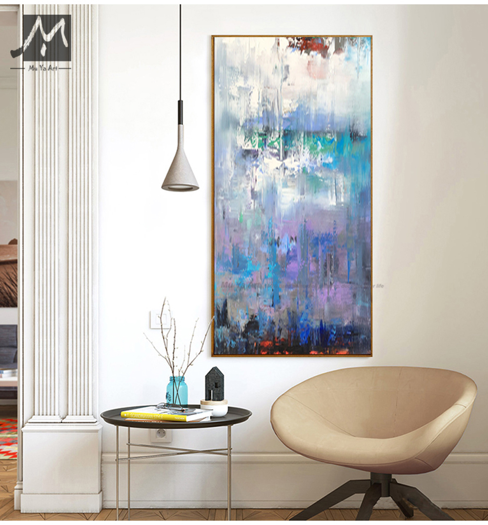 MUYA abstract art oil painting on canvas contemporary acrylic ...