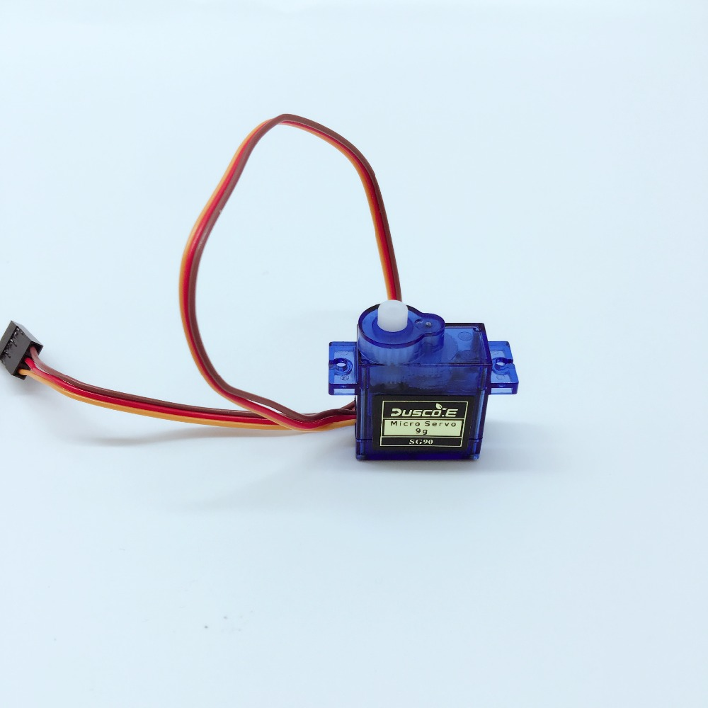 100 New Sg90 9g Micro Servo Motor For Robot 6ch Rc