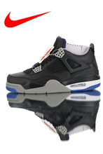 6f44622f6f6 Original New Arrival Nike Air Jordan 4 Retro Men's Breathable Basketball  Shoes, Shock-absorbing Outdoor Sports Shoes 308497-006