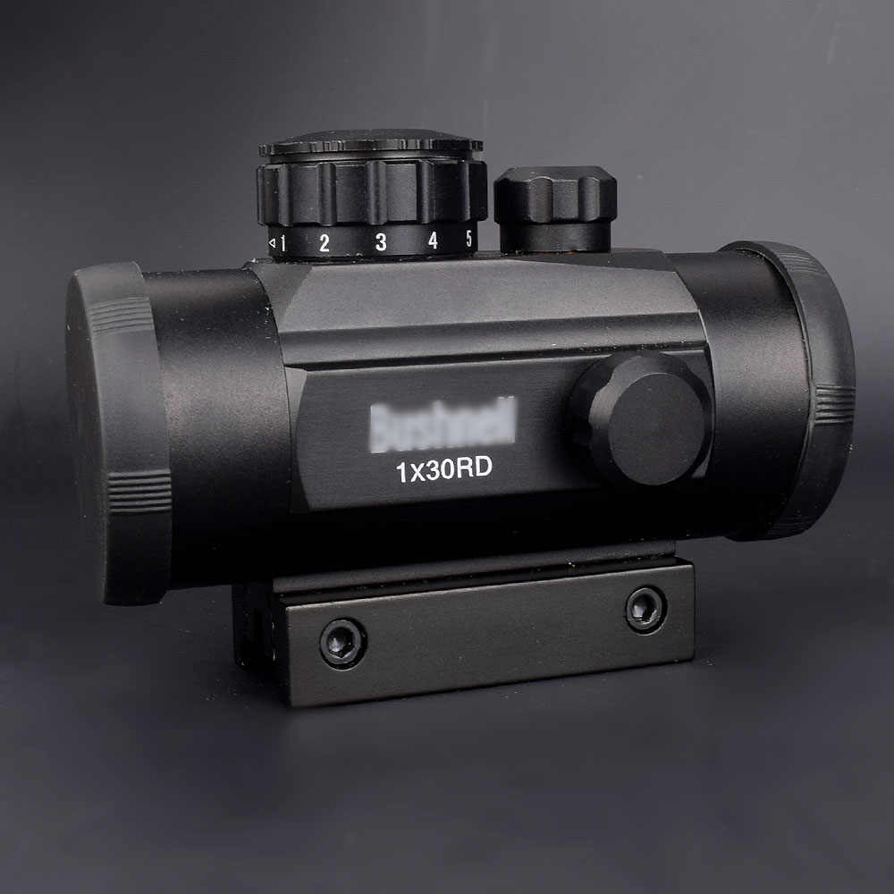Taktis 1X30 Hologram Dot Sight Airsoft Merah Hijau Dot Sight Optik Berburu Lingkup 11 Mm 20 Mm Rail mount Collimator Pandangan