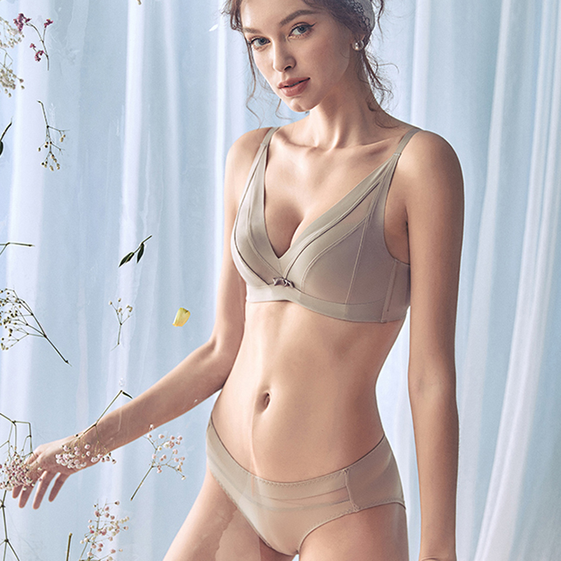 CINOON 2019 High-end Brand Romantic Temptation   Bra     Set   Women Fashion Cotton Underwear   Set   Push Up Seamless   Bra   and Panties   Set