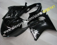 Hot Sales,For Honda CBR1100XX 96 07 CBR 1100 XX 1996 2007 whole set black motorcycle aftermarket kit Fairing (Injection molding)