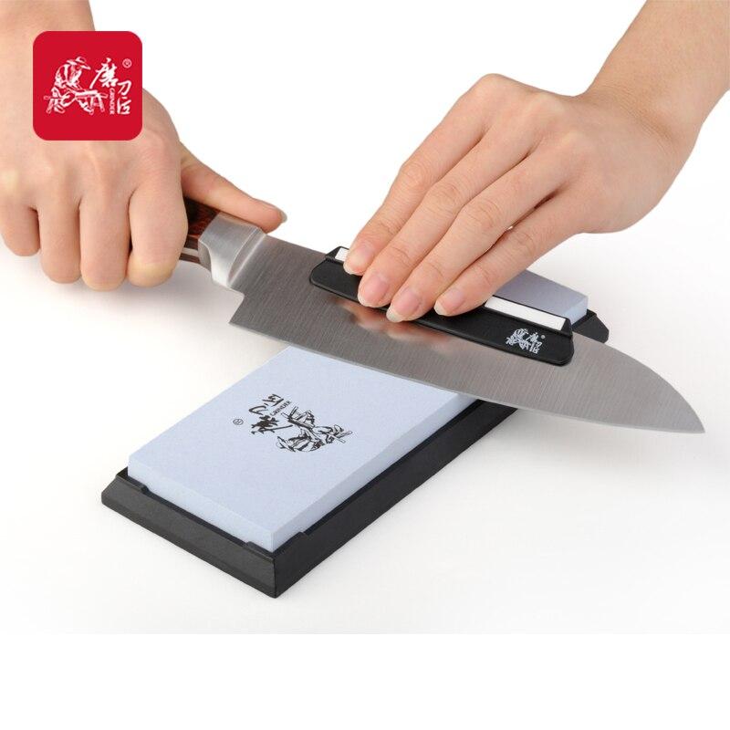 Точильщик профессиональный Кухня Ножи точилка 240 Грит шлифовальный воды хонинговальные камни slijpsteen шлифования точильный камень TAIDEA