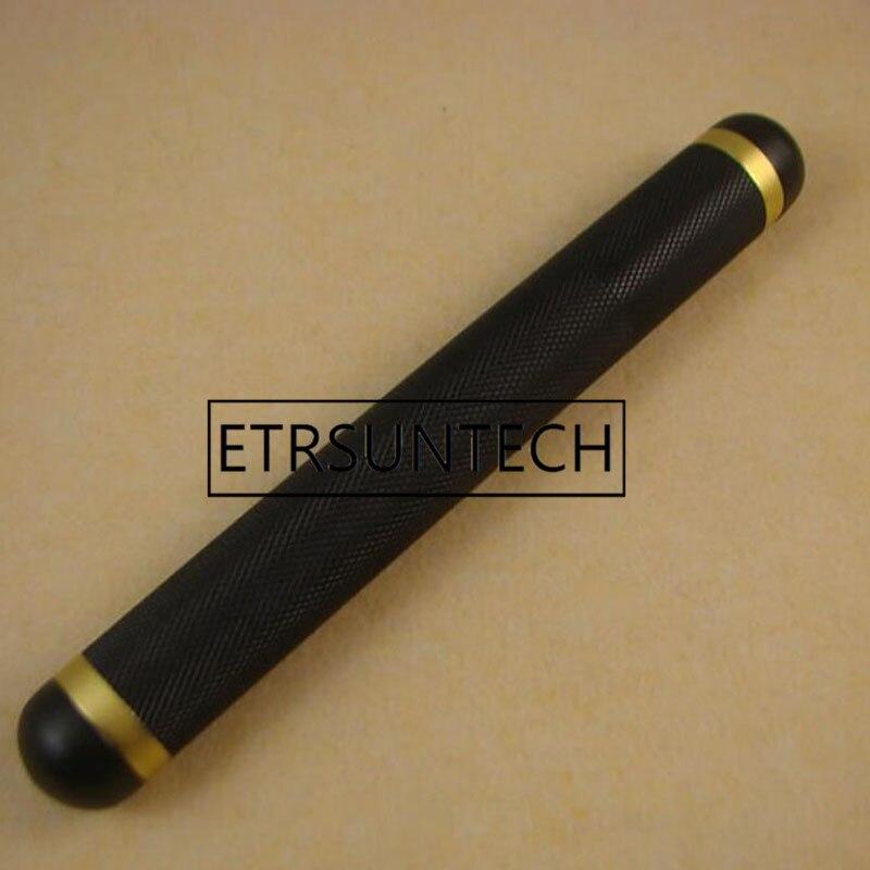 50pcs Cigar Tube Single Holder Portable Urltra Light Metal Mini Cigars Humidor Black Gold Aluminium Tubes