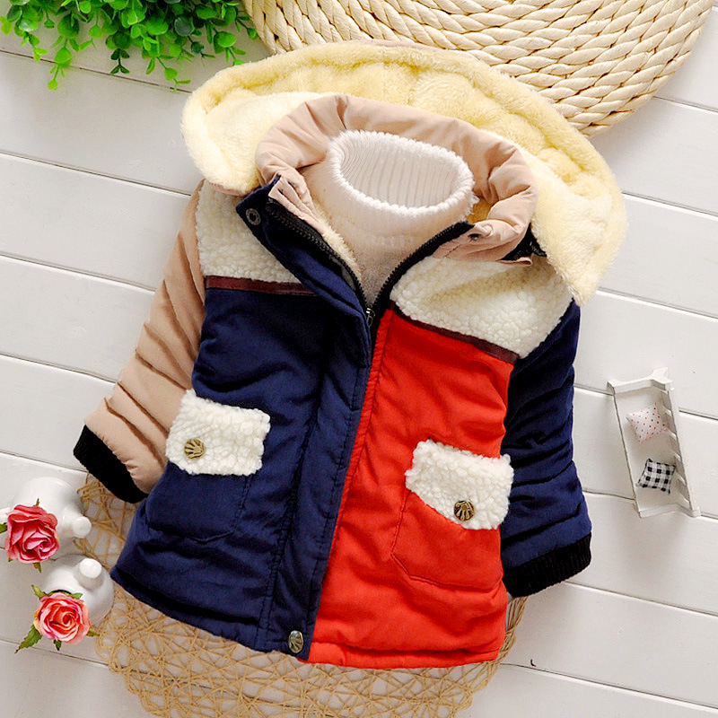 New arrival children winter coat for boy girl cotton outwear hooded boys Thicken jacket freeshipping designer golf shoes boy girl new arrival