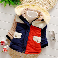 New arrival children winter coat for boy girl cotton outwear hooded boys Thicken jacket freeshipping