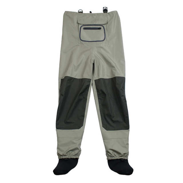 Outdoor Fly Fishing Stocking Foot ,waterproof and breathable chest waders with one buckle accidently rope kits 4